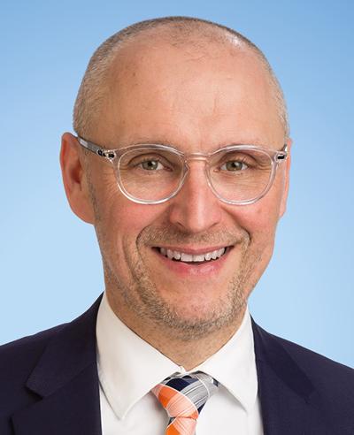 Leiter der Firmenkundenberatung Harald Hoch