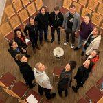 Friedrich Hölderlin: Das nonoise-Ensemble, Foto: nonoise, Januar 2020