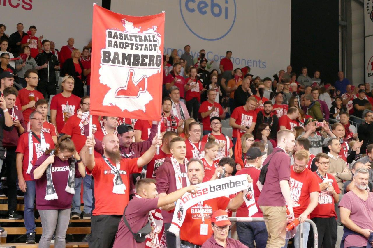 Heimspiel von Brose Bamberg, 2019