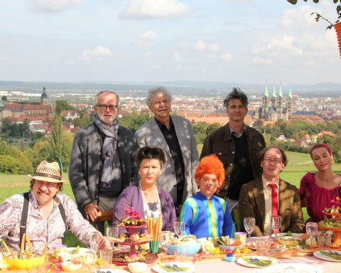 """Filmstadt Bamberg: Am Set von """"Sams im Glück"""", 2011, Foto: Steffen Schützwohl, Stadt Bamberg"""