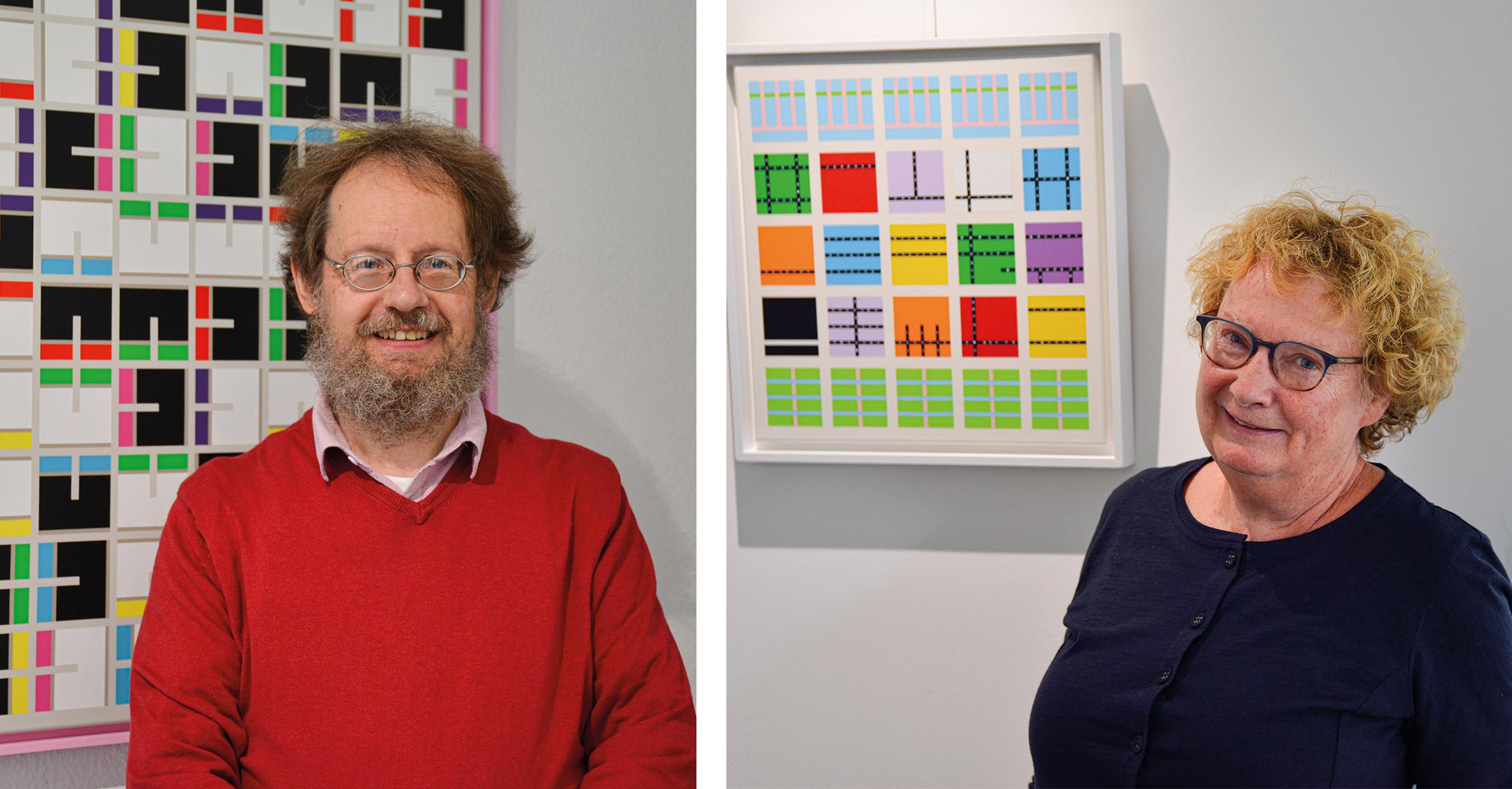 Berganzapreis: Peter Schoppel und Barbara Kahle